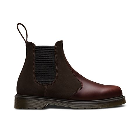 Browse For Dr Martens 99 Greasy Suede Deep Red Womens Boat Shoeso