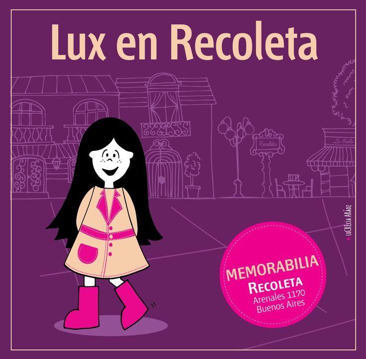 Lux en Recoleta.  #pink #lux #muñeca #buenoaires #argentina #kids #store #doll #tigre #Recoleta