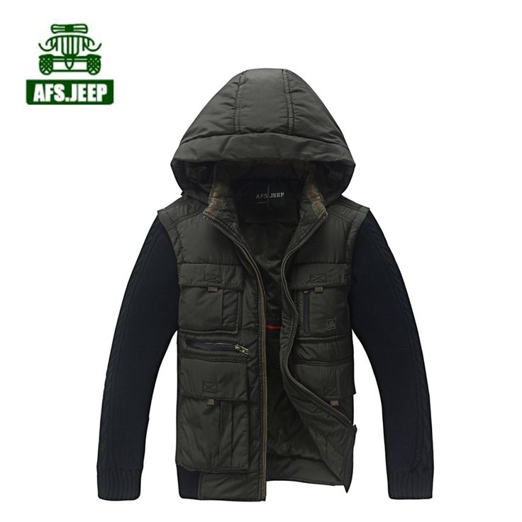 (67.28$)  Watch here - http://ain6z.worlditems.win/all/product.php?id=32673485276 - Plus size parka men Brand AFS Jeep parka coat  cotton Warm Autumn and Winter mens jacket coats camperas hombre 2016 invierno