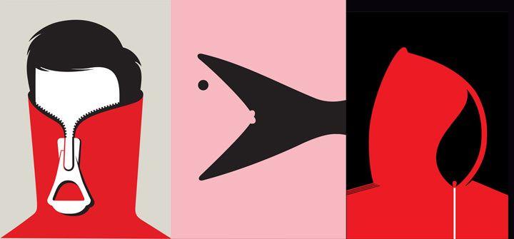 O ilustrador Noma Bar paga as contas de casa só fazendo espaço negativo