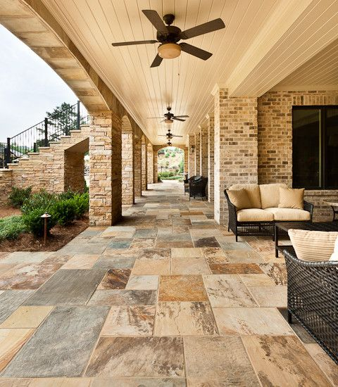 Wonderful Perfect Outdoor Patio Floor Tiles Supporting The Beauty Of The House:  Mesmerizing Outdoor Patio Floor