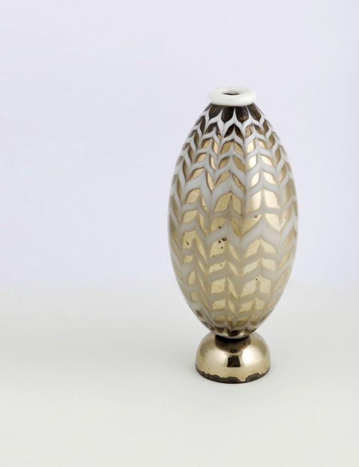CARLO SCARPA - Vase mit Verspiegelung im Inneren, MVM CAPPELLIN, Murano ca. 1930 Schätzpreis: 12.000-15.000 EUR