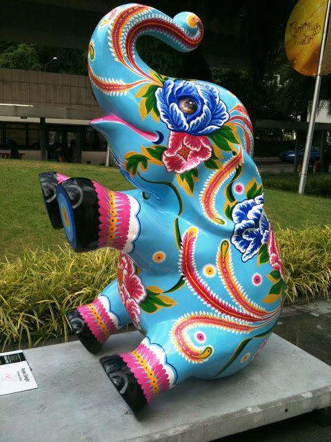 Singapore 2011 Elephant Parade
