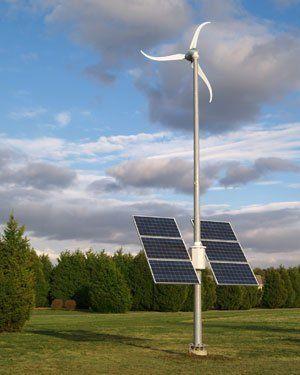 Southwest Windpower offers solar wind package with Skystream wind turbine