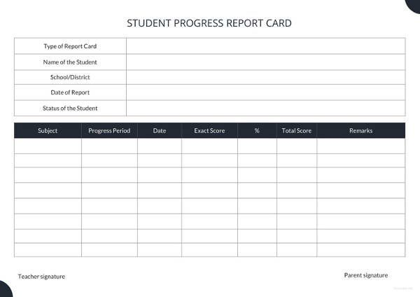 Lausd Report Card Template 17 Report Card Templates Free Sample Example Format School Report Card Report Card Template Card Template