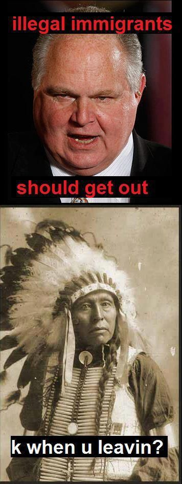 I'm not American Indian, but have Always had Great Respect for them.  This is absolutely accurate and funny .