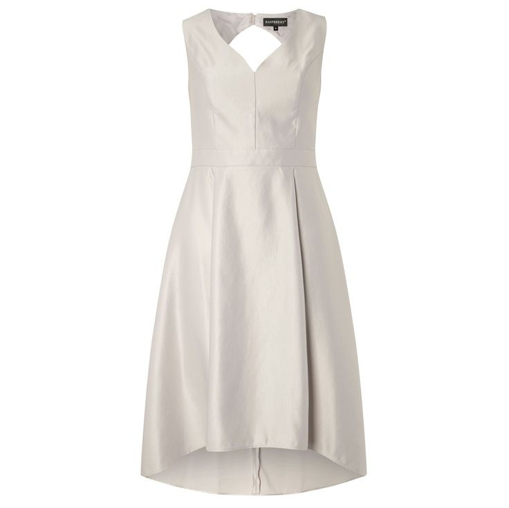 Rochie asimetrica cu spatele gol decolteu in V inchidere cu fermoar si nasturi spate gol