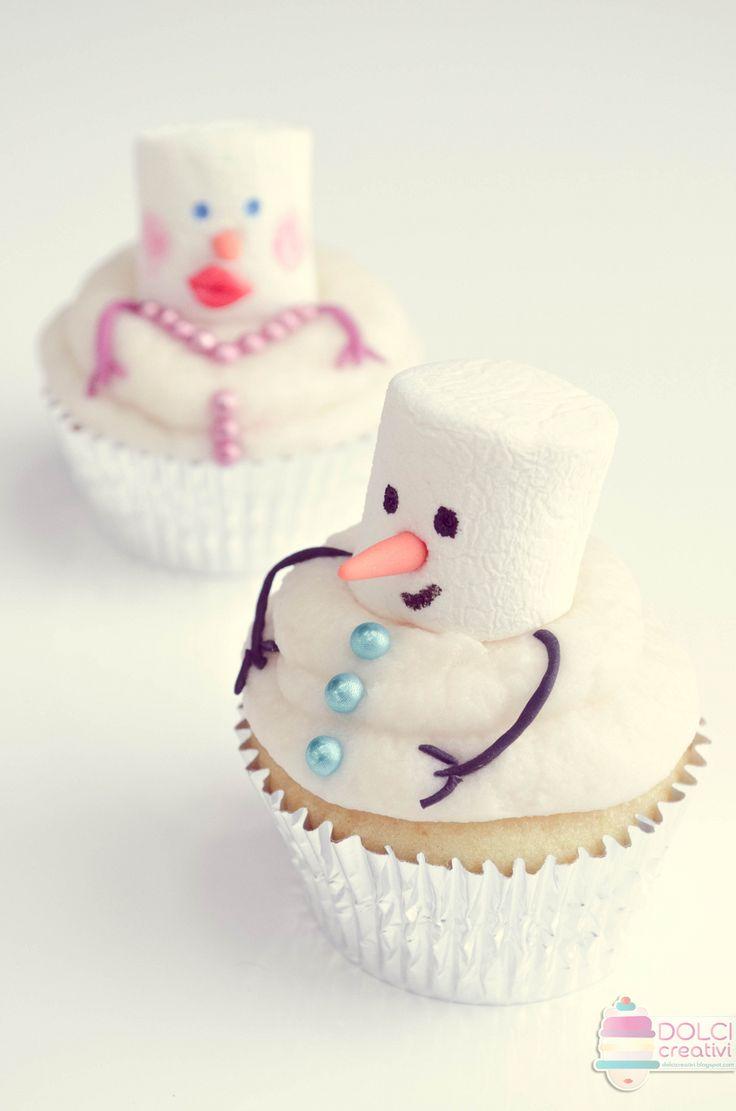 ! Dolci Creativi di Sarù - Torte decorate: Cupcakes di Natale