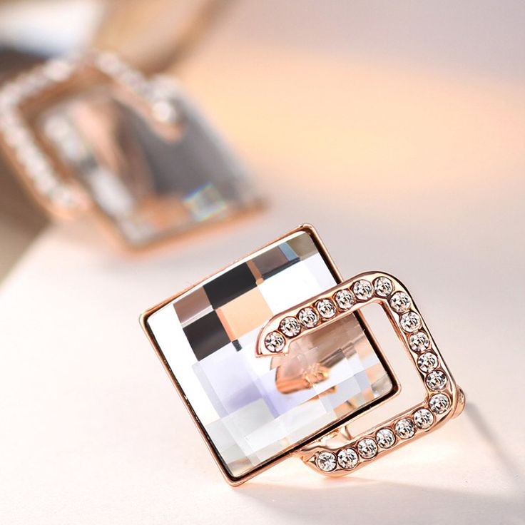 MADE WITH SWAROVSKI ELEMENTS Charm Beads Snap Bangles & Bracelets Fashion Jewelry Love Gift Girls New Brand JS1 Tag a friend who would love this! www.lolfashion.ne... #Jewelry #shop #beauty #Woman's fashion #Products