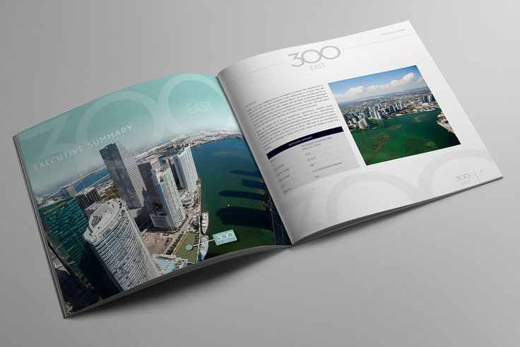 300 East Offering Memorandum/Brochure on Behance