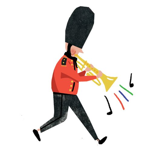 Little Dancing Guard by Jasmine Hortop