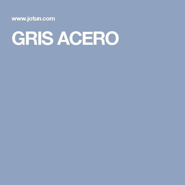 GRIS ACERO