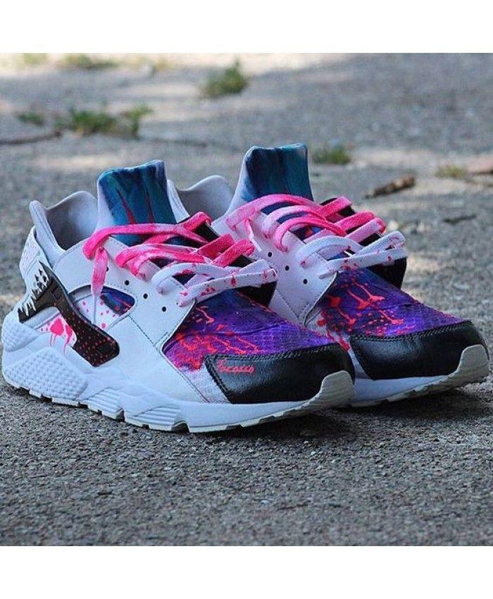 Nike Air Huarache Rxl Custom Hyper Pink Purple Trainer