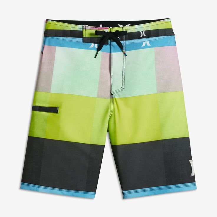 Hurley Heathered Kingsroad Big Kids' (Boys') Board Shorts Size