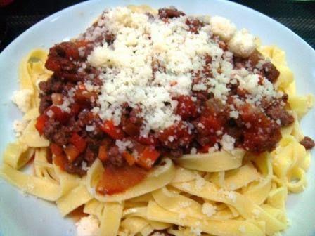 Une once de Gourmandise: Ma sauce bolognaise (au multicuiseur) - 15 PPts le...