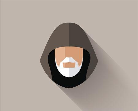 Filipe Carvalho. Star Wars - Long Shadow Flat Design Icons