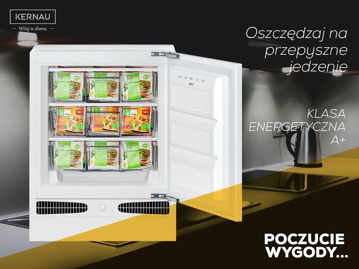 Oszczędzaj na tym, co nie wymaga poświęceń! Zamrażarka polskiej marki #Kernau do zabudowy redukuje około 20% kosztów energii elektrycznej. Chroń środowisko naturalne i zwróć uwagę na swoje wydatki: http://bit.ly/Kernau_Zamrażarka_KBF_08122