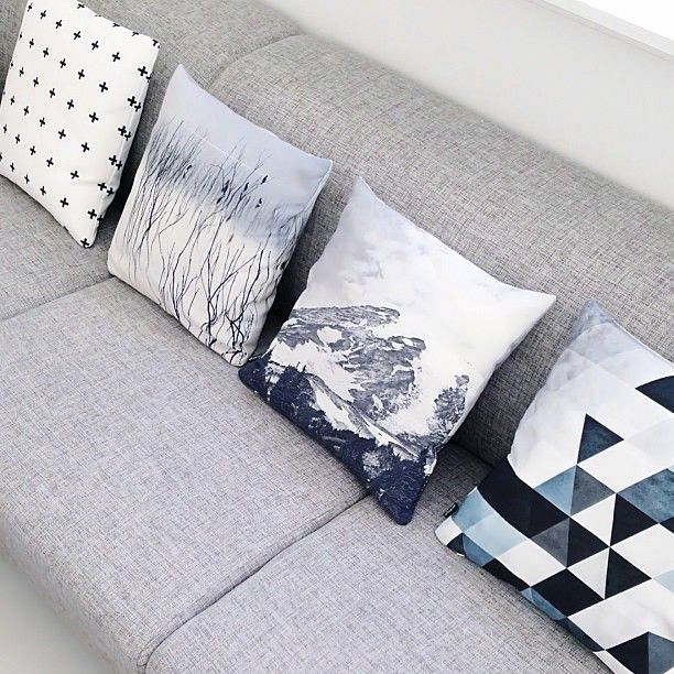 Via Splittertine | Graphic Pillows | Society6 | Kind By Nature DK