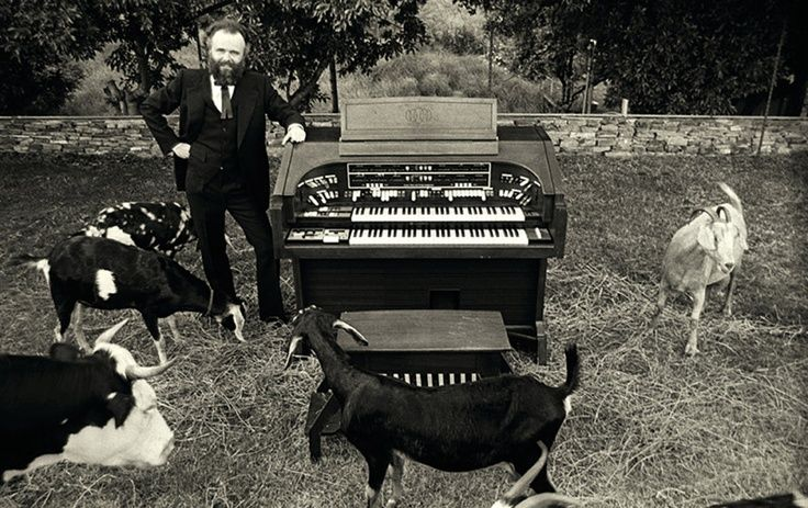 """thefoolonthehill67: """" The Band's Garth Hudson """""""