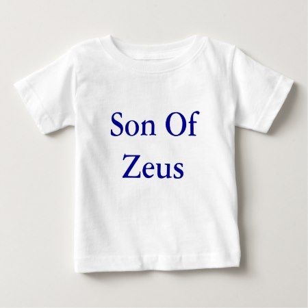 Son of Zeus Baby Top - click to get yours right now!
