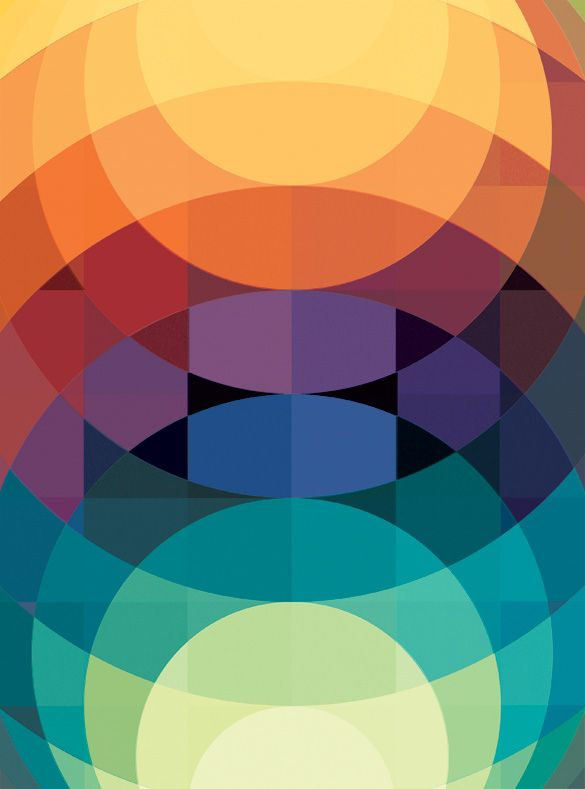 Art of posters: The Colorful Geometric Graphic Designs of Andy Gilmore