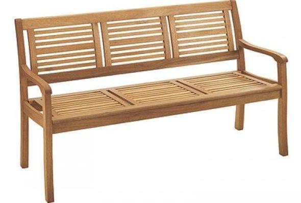 Bauhaus Gartenbank Holz Mit 3 Sitz Werden Von Starkeren Materialien Holzbank Plane Gartenbank Holz Gartenbank