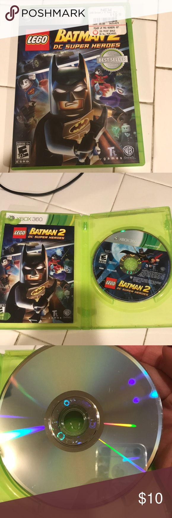 Xbox 360 game Used XBox 360 Lego Batman 2 DC Super Heroes game. Perfect condition!! WB Other