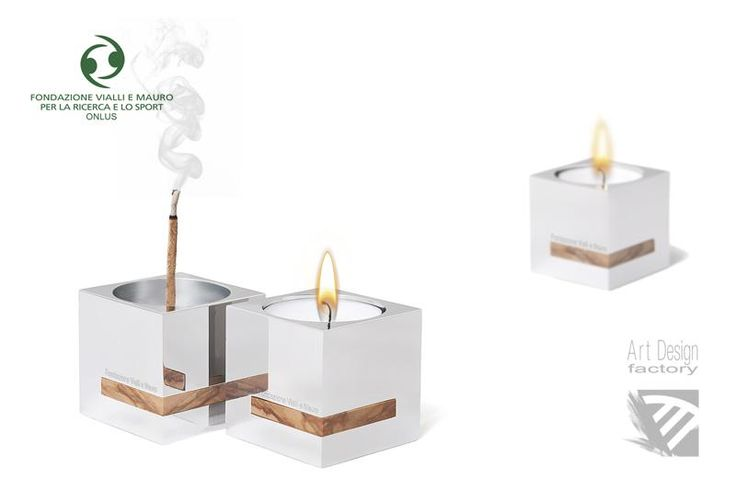Art Design Factory - Product - Flame Of Life - candle, incense Holder