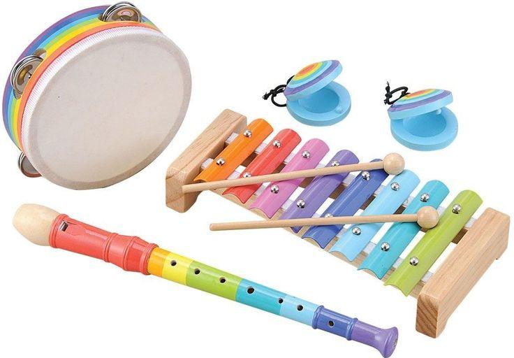 Nádherná barevná muzikální sada se kterou se dítě nudit nebude (a rodiče také ne :-D)