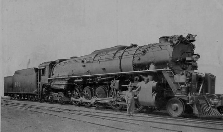 Kansas City Southern Railroad J Class 2 10 4 900 Was The First Of Ten Lima Super Power Locomotives Built In Railroad Photos Steam Locomotive Train Engines