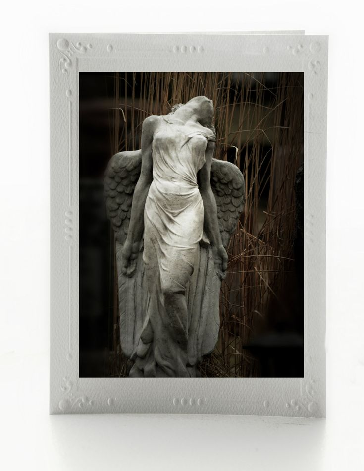 Angel Fine Art Blank Note Cards; Set of 3 Any Occasion Greeting Cards; Mounted Art Photos; Custom Orders Available by MissmacMemories on Etsy