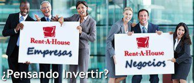RENT-A-HOUSE FRANQUICIA INTERNACIONAL CHILE Venta y alquiler de apartamento, casa, terreno, oficina, local comercial