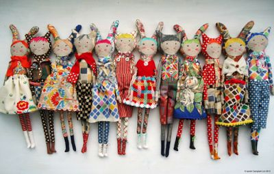 Dolls by Sarah Campbell