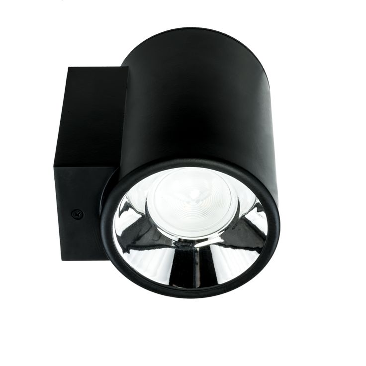 Simple, stylish wall mounted lamp. Great for modern interiors! . Body is made of steel and aluminum, all RAL colors are available. Light source - Philips Fortimo LED Disc. See it on: http://imperial.pl/en/produkty,6032/dln-90-led-wall