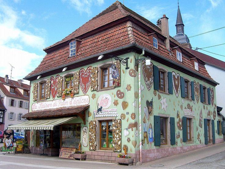 Gertwiller Boutique Lips, la Maison du pain d'épices Pays de barr et du Bernstein