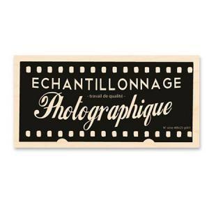 Tampon Bois - Echantillonage photo -