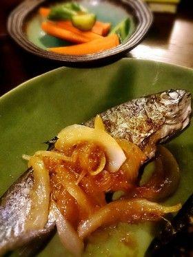 虹鱒の玉ねぎバターニンニク醤油ソテーがけ by ゆうゆうまりまり ...