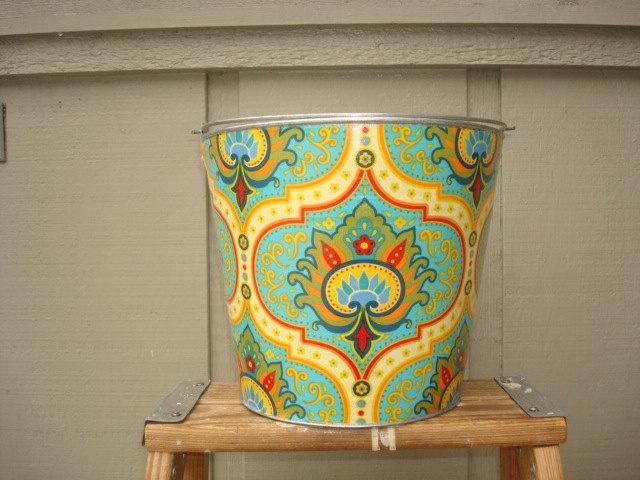 The Beach Bucketgalvanized pail by BizzyBuckets on Etsy, $22.00Bucketgalvan Pail, Etsy, Buckets, Reunions Auction, Beach Bucketgalvan, Auction Items