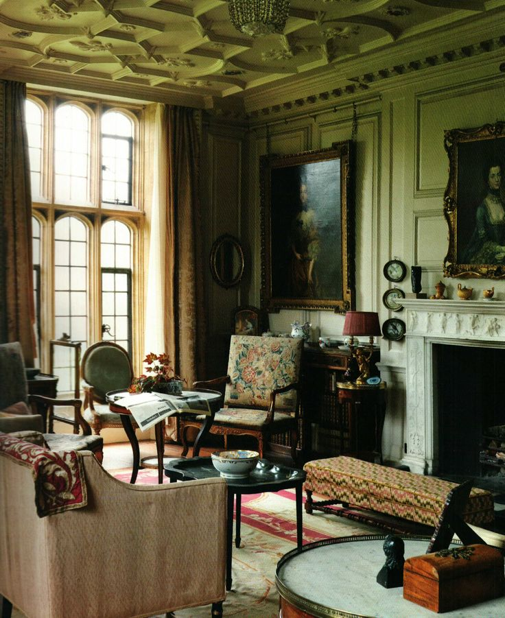 Ganymedesrocks mapperton house in mapperton tudor for 18th century farmhouse interiors