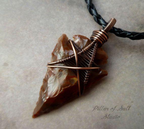 310 best arrowhead pendants images on pinterest jewerly jewel wire wrapped jewelry handmade pendants rings more by pillarofsaltstudio aloadofball Image collections