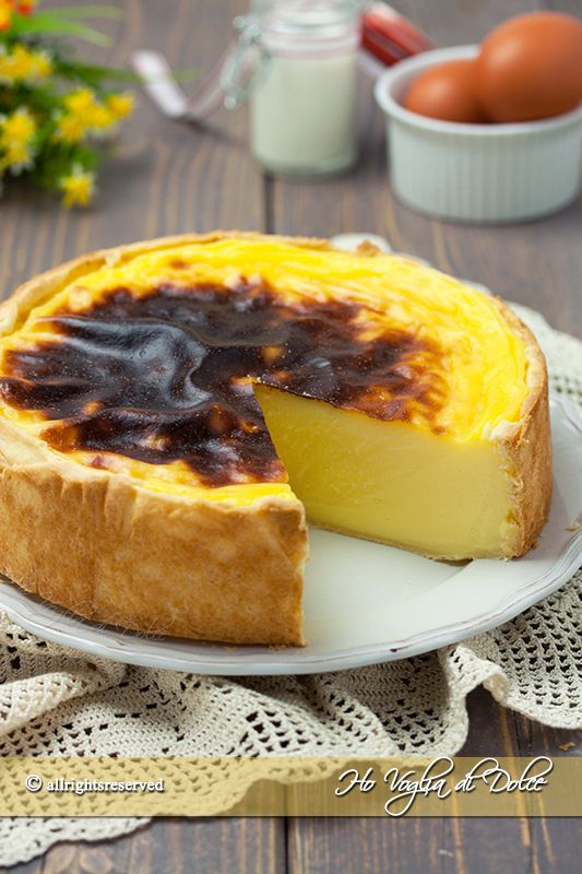 Flan parisien o flan pâtissier ricetta facile e veloce--(flan o crema pasticcera alla parigina)