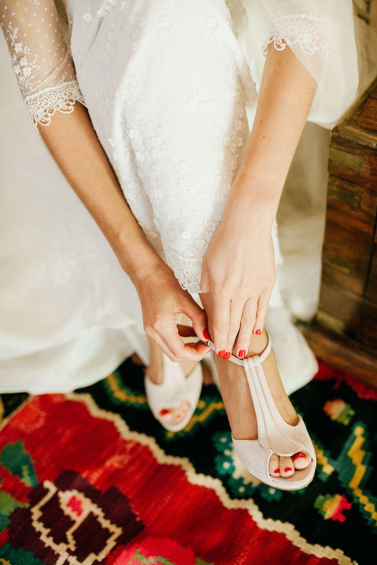 Zapatos de novia: estlo Art deco