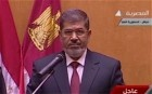 Mohammed Morsi took the oath of office on Saturday to become Egypt's first freely elected President and its first head of state since Hosni Mubarak's overthrow last year.