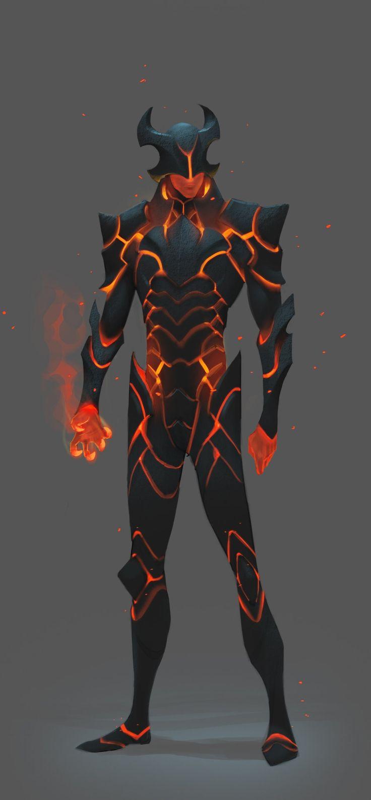 ArtStation - Fire Elemental, Rafael De Guzman