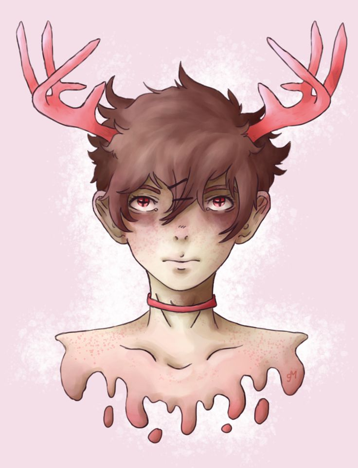 Rose Antlers by SweaterGabe on DeviantArt