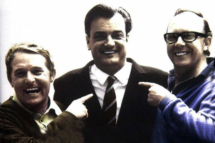 Liverpool-born comedy writer Eddie Braben the third man to Morecambe and Wise