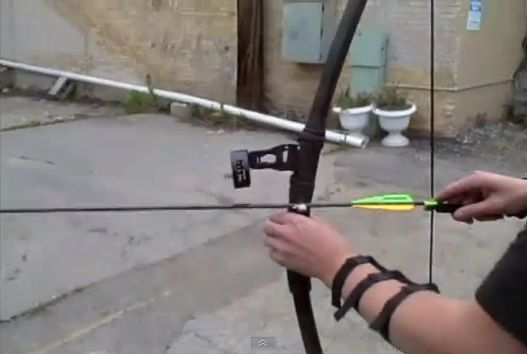 How to Make a 60 lb PVC longbow-- because a bow makes less noise than a gun when approached by a hoard of the undead...