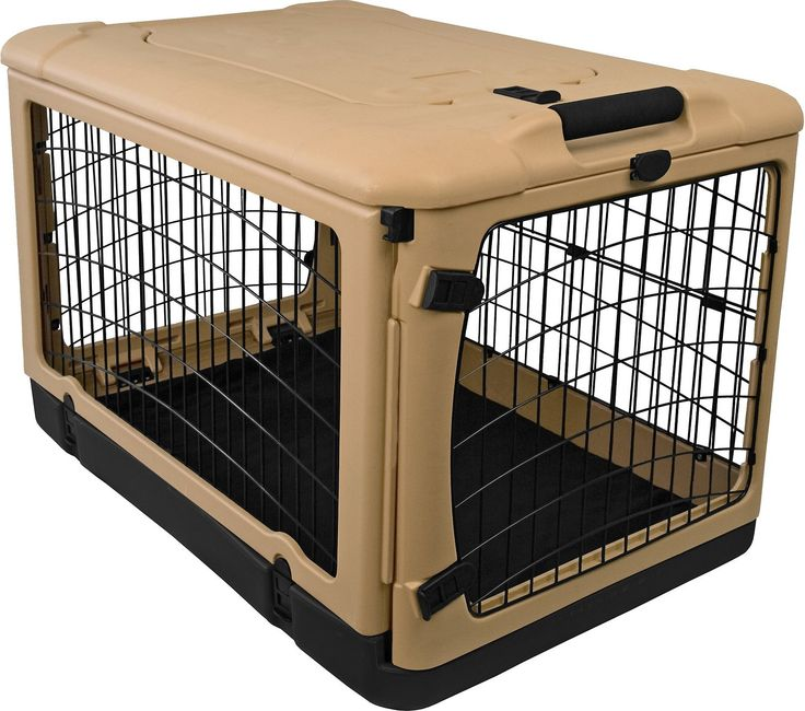Don't be surprised when Dodger throws a crate-warming party to show off his new digs! Pet Gear's The Other Door Steel Crate & Fleece Pad has a super-cool side garage door in addition to doors on both ends and one on the top, giving plenty of options for crate placement in any room of the house. The removable fleece pad offers plenty of warm comfort and support, and the pull handle, wheels, and carrying/storage case make this mobile home easy to take anywhere.