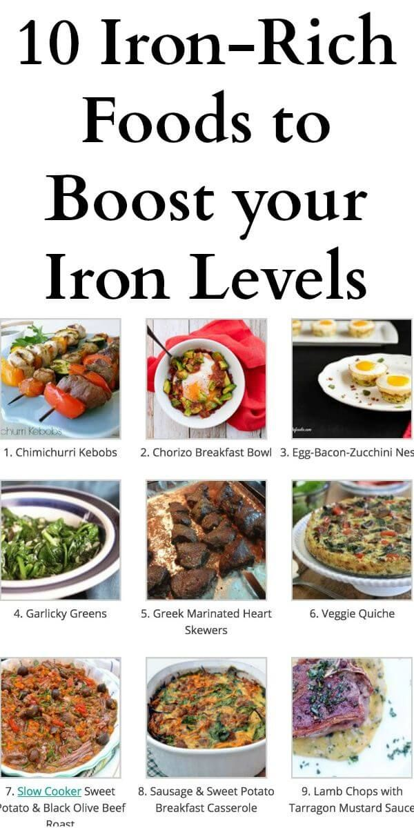 10 Iron-Rich Foods to Boost your Iron Levels