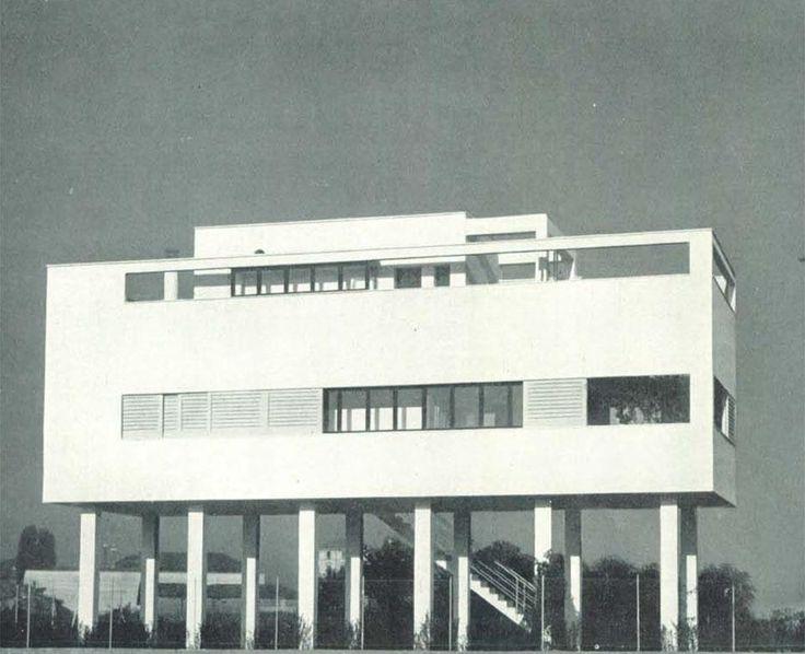 Figini e Pollini, Casa al Villaggio dei Giornalisti, Milano, 1934